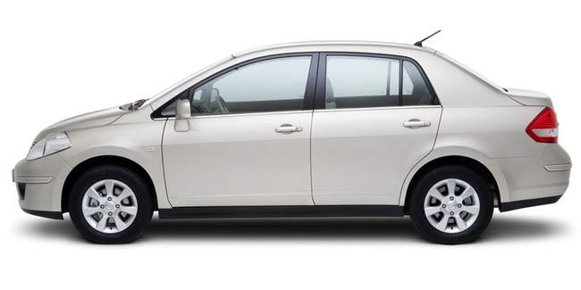Nissan Tiida Nicaragua Rental