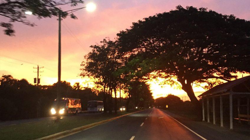 Managua Nicaragua Sunset