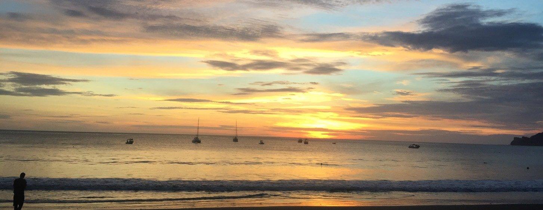 Sunset Nicaragua Beach Tour
