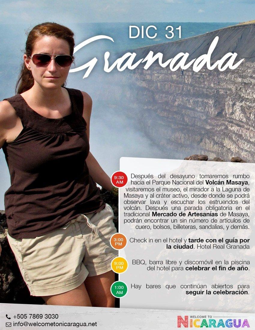 Viaje a Masaya desde Costa Rica