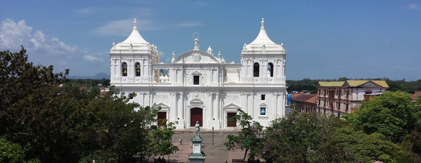 Cathedral Leon Nicaragua