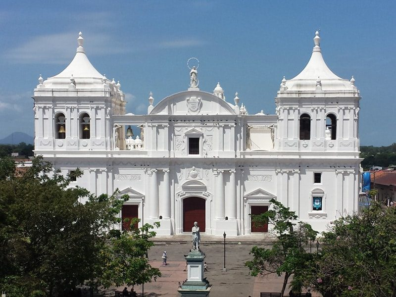 Leon Cathedral Nicaragua